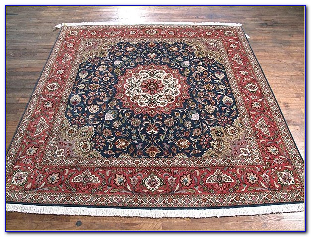 Square Rugs 7x7 Brown