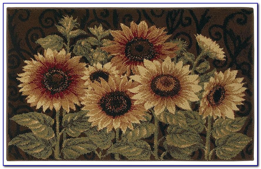 Sunflower Design Area Rugs
