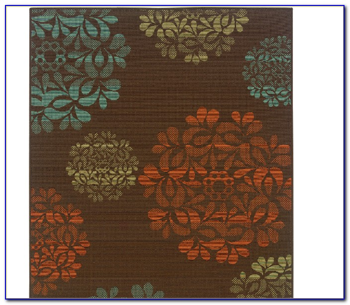 Tropical Outdoor Runner Rugs