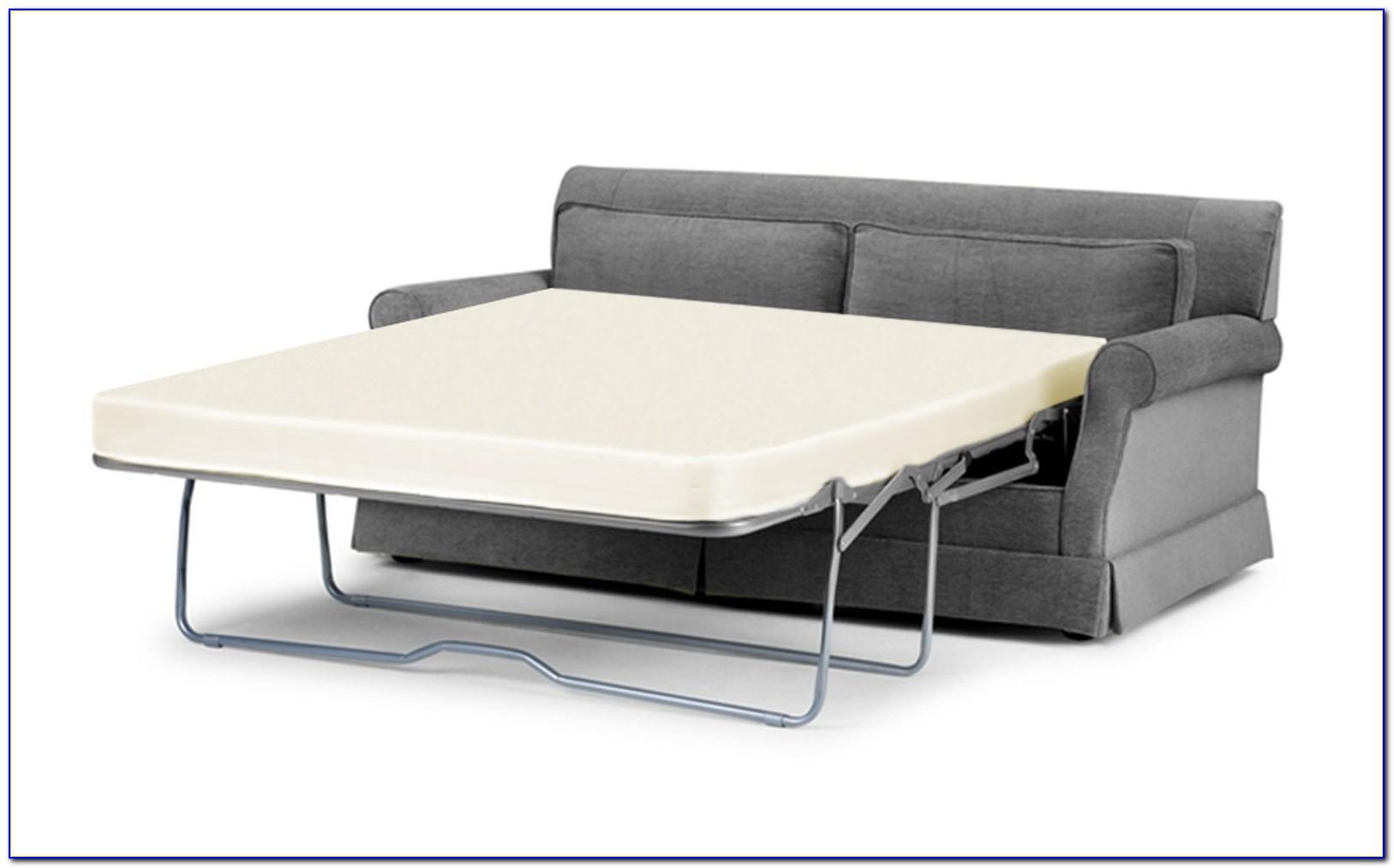Twin Sleeper Sofa With Memory Foam Mattress