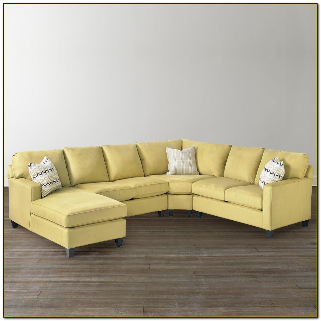 U Shaped Sectional Sofa Leather