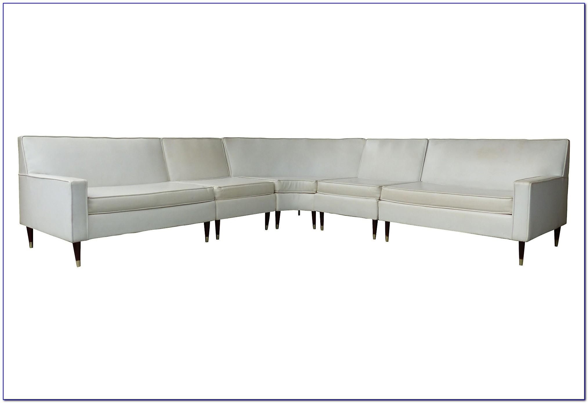 Vintage Mid Century Sectional Sofa
