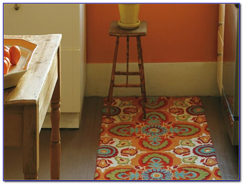 Washable Kitchen Rugs Without Rubber Backing
