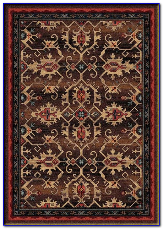 Western Style Hearth Rugs