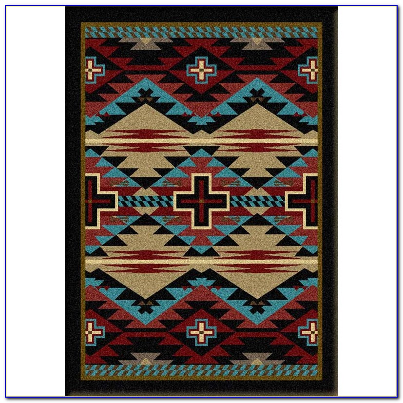 Western Style Outdoor Rugs