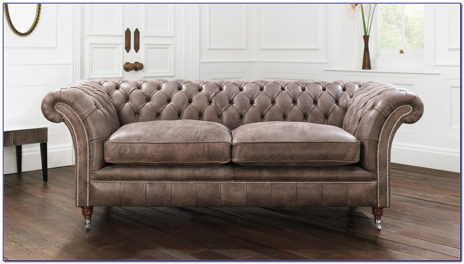 Hancock And Moore Leather Chesterfield Sofa Sofas Home
