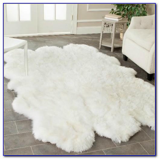 White Faux Fur Rug Ikea