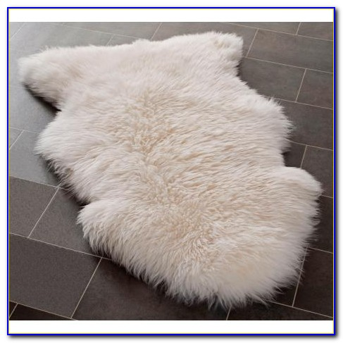 White Faux Fur Rug Uk