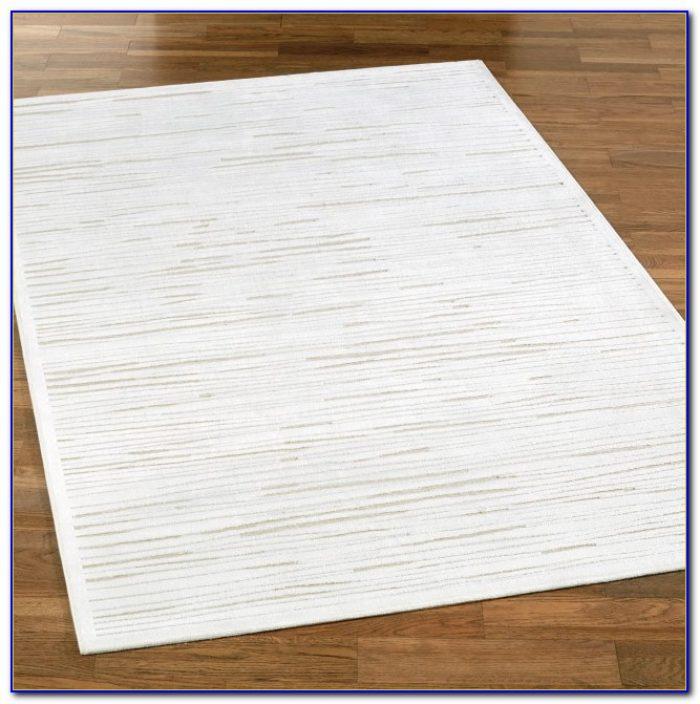 White Soft Fluffy Area Rug