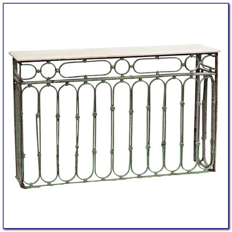 Wrought Iron Sofa Table Base