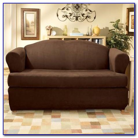 2 Piece T Cushion Sofa Cover