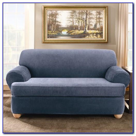 2 Piece T Cushion Sofa Slipcover