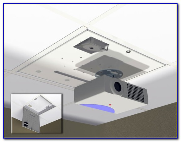 2x2 Ceiling Tile Projector Mount