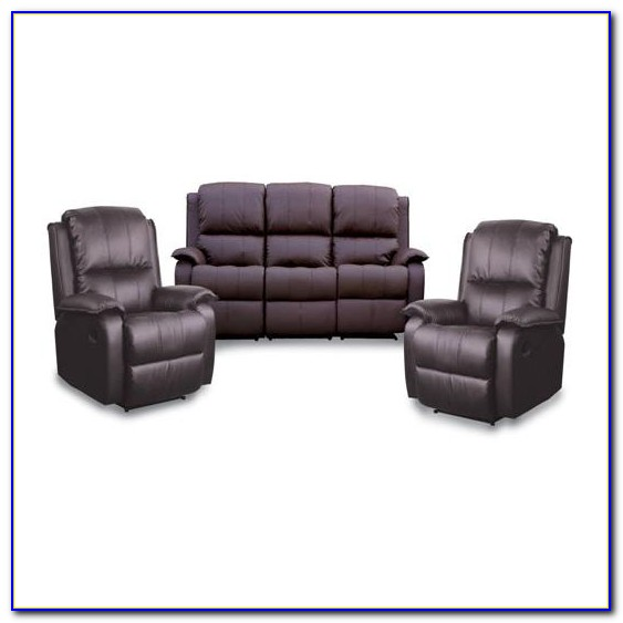 3 Piece Sectional Sofa With Recliner