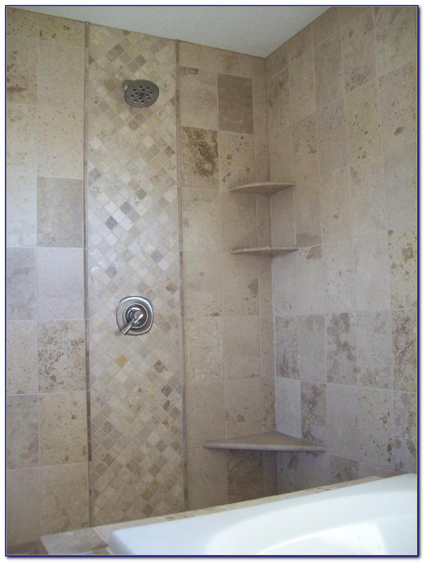 Accent Tile In Shower Niche
