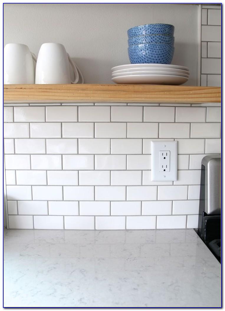 American Olean Subway Tile White