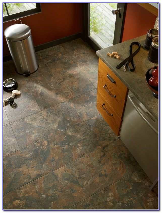 Armstrong Groutable Vinyl Tile Flooring