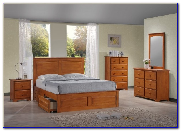 Bedroom Sets With Storage Under Bed