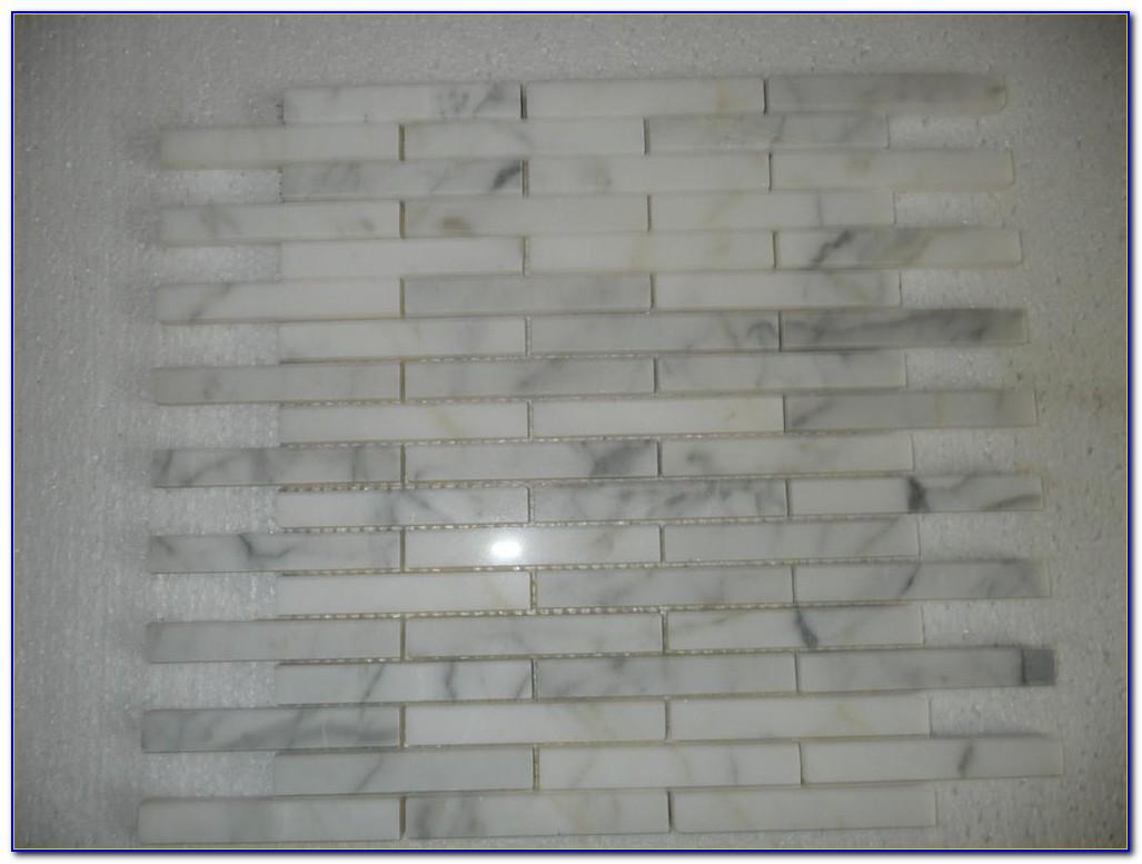 Bianco Carrara Marble Tile Mosaic