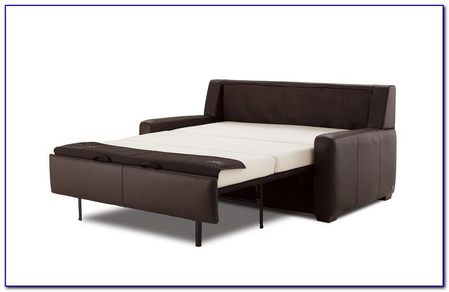 Black Leather Sectional Sleeper Sofa
