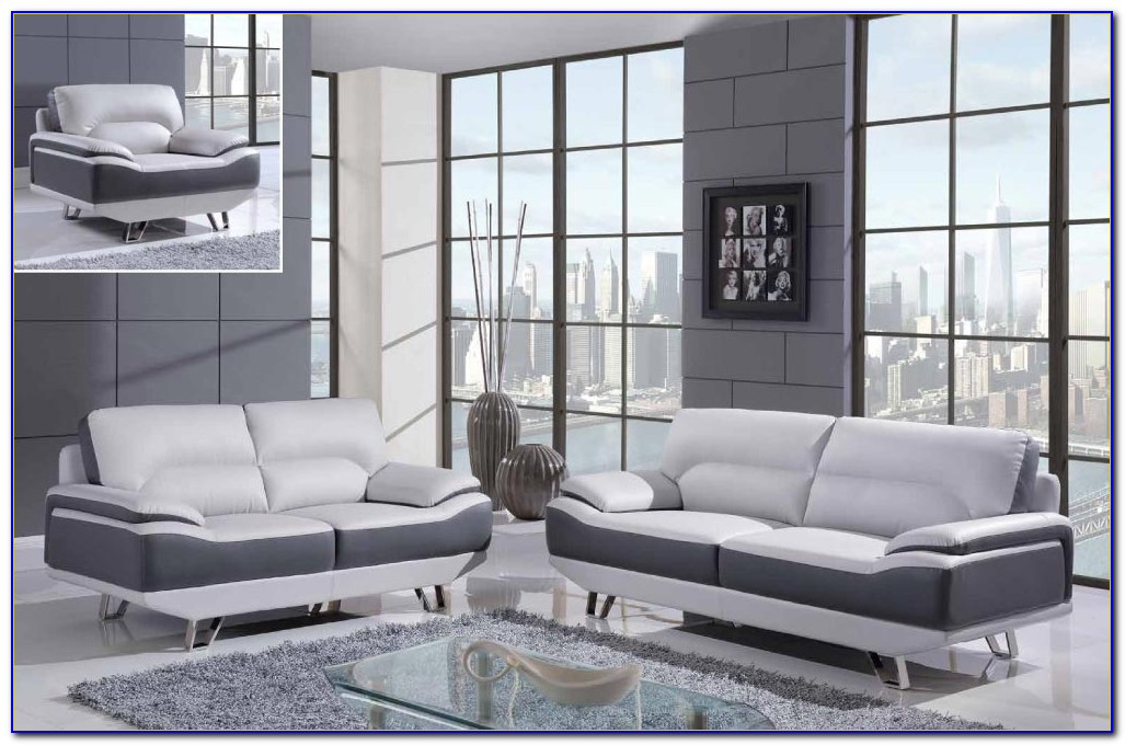 Black Reclining Sofa And Loveseat