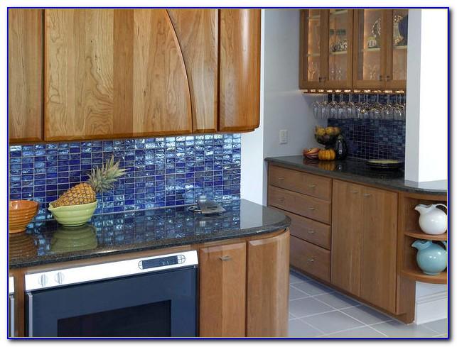 Blue Glass Tile Backsplash Uk