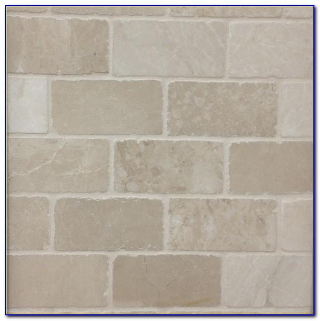 Botticino Tumbled Marble Subway Tiles