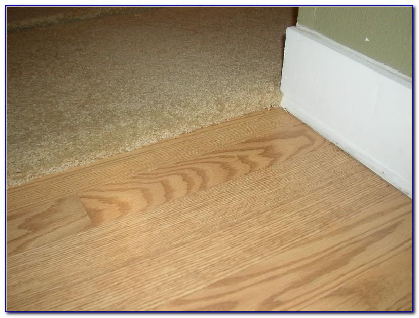 Carpet To Tile Transition Curve
