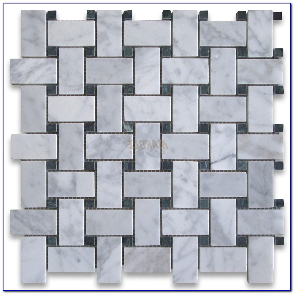 Carrara Marble Hexagon Mosaic Tile