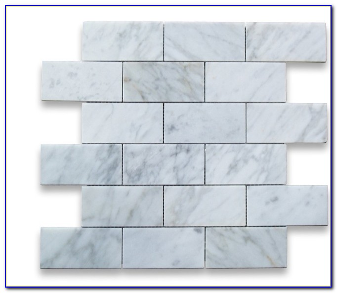 Carrara Marble Mosaic Tile Uk