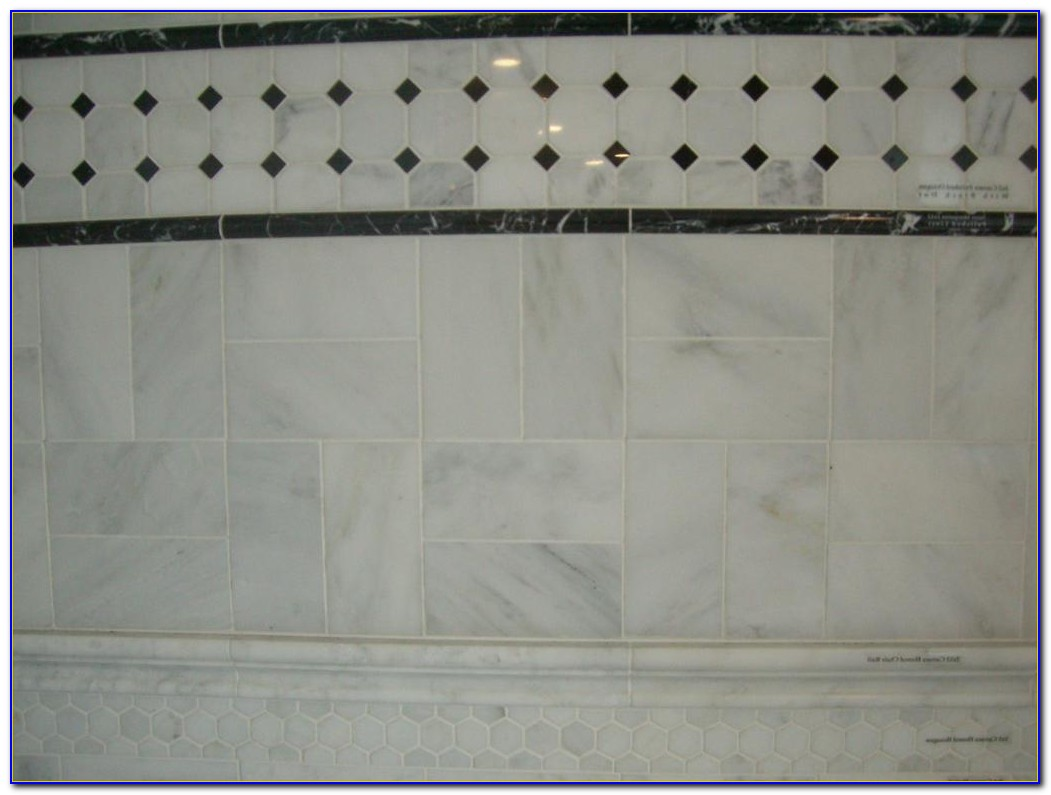 Carrara Marble Subway Tile Backsplash