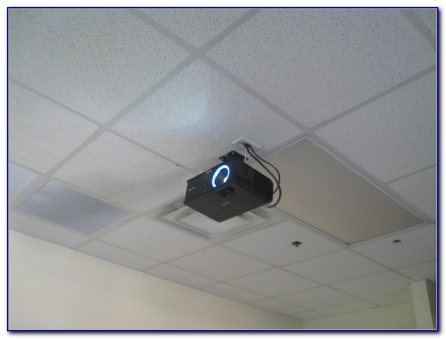 Ceiling Tile Grid Projector Mount