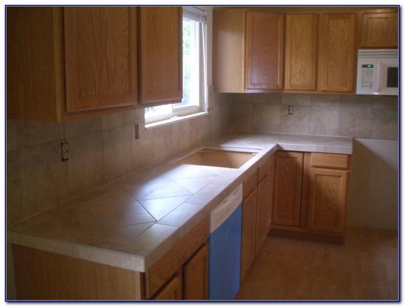Ceramic Tile Kitchen Countertops Ideas