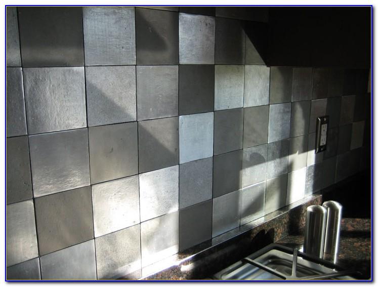 Copper Tin Tiles For Backsplash