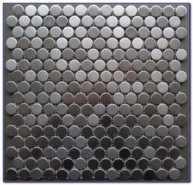 Cork Penny Round Mosaic Tile