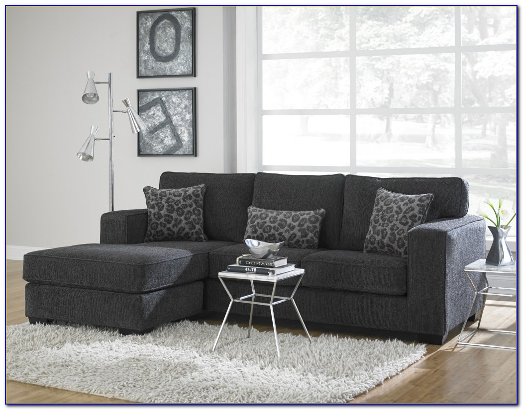 Cranbrook Charcoal Gray Sectional Sofa
