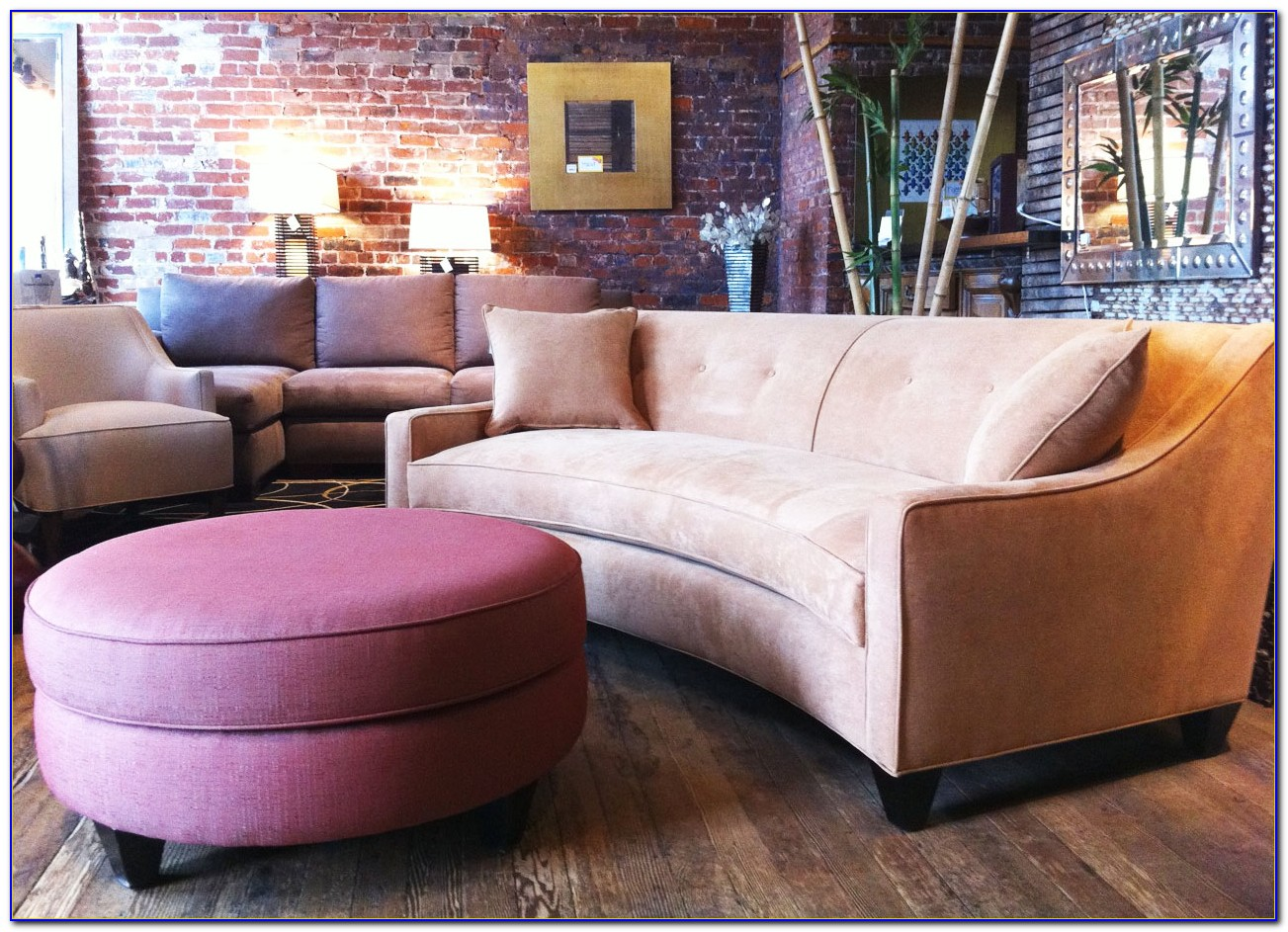 Curved Sofas For Small Spaces
