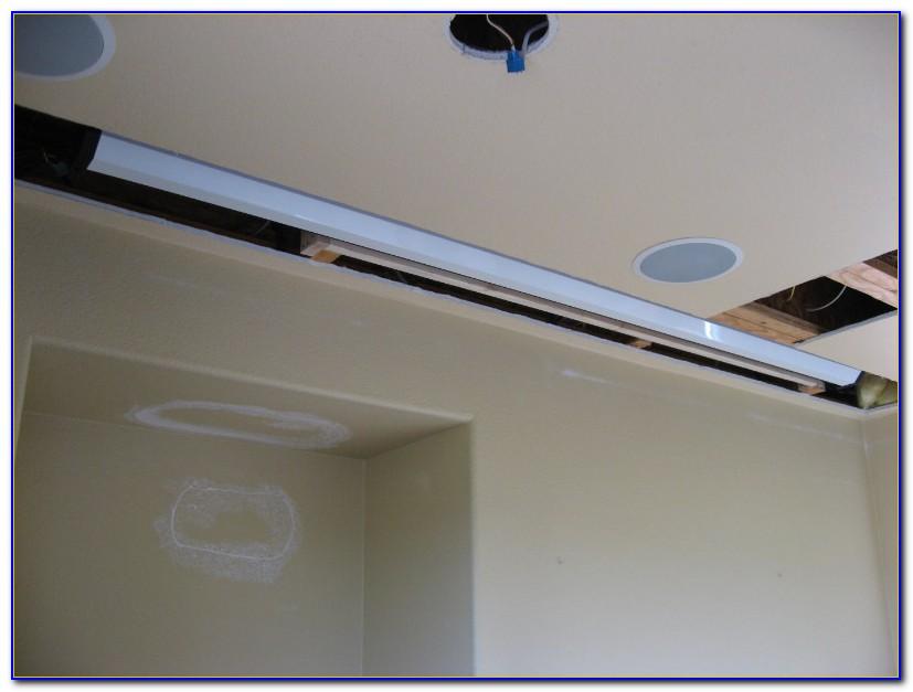 False Ceiling Tile Projector Mount