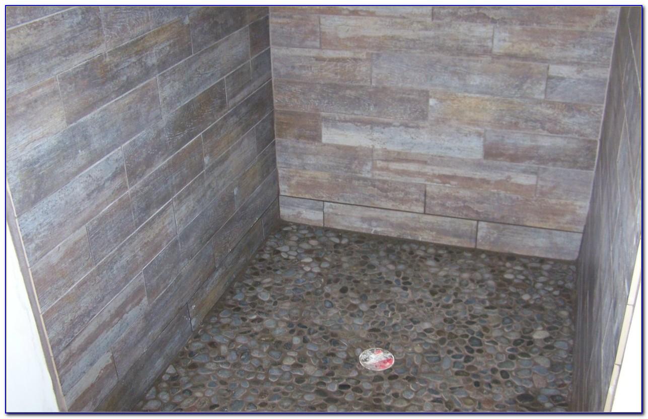 Faux Wood Porcelain Floor Tile