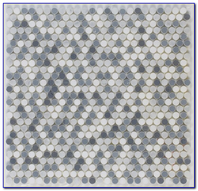 Glass Penny Round Mosaic Tile