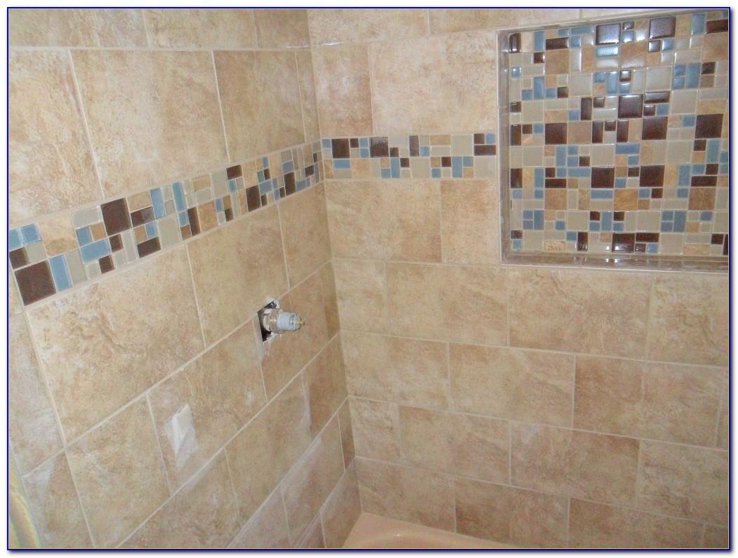 Glass Shower Shelves For Tile
