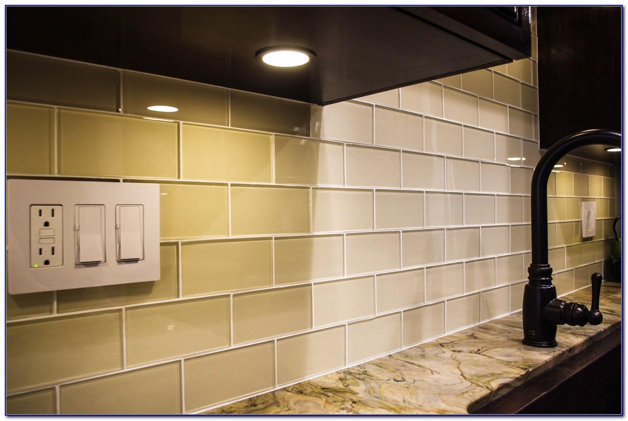 Glass Subway Tile Backsplash Photos