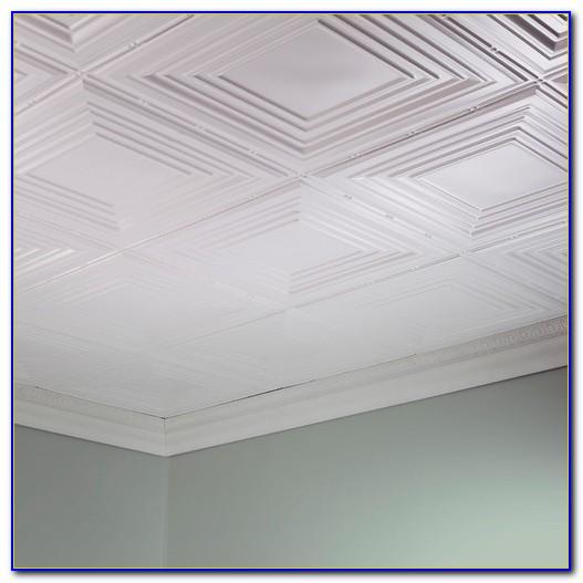 Glue On Ceiling Tiles Tin
