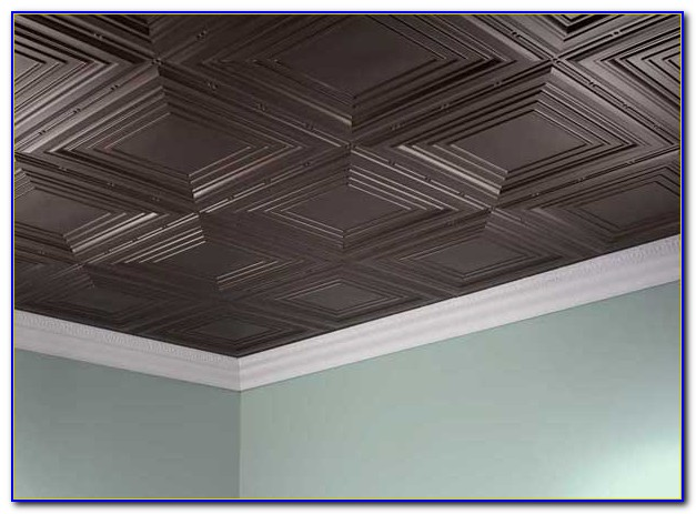 Glue On Soundproof Ceiling Tiles