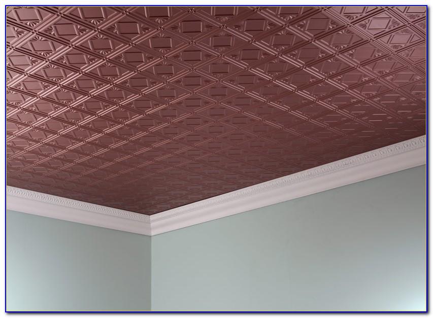 Glue Up Ceiling Tiles Bathroom