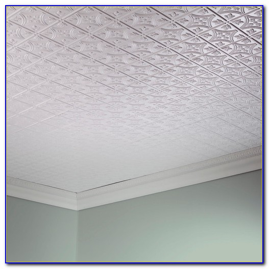 Glue Up Ceiling Tiles Installation