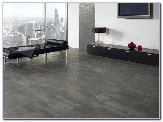 Grey Polished Porcelain Floor Tiles