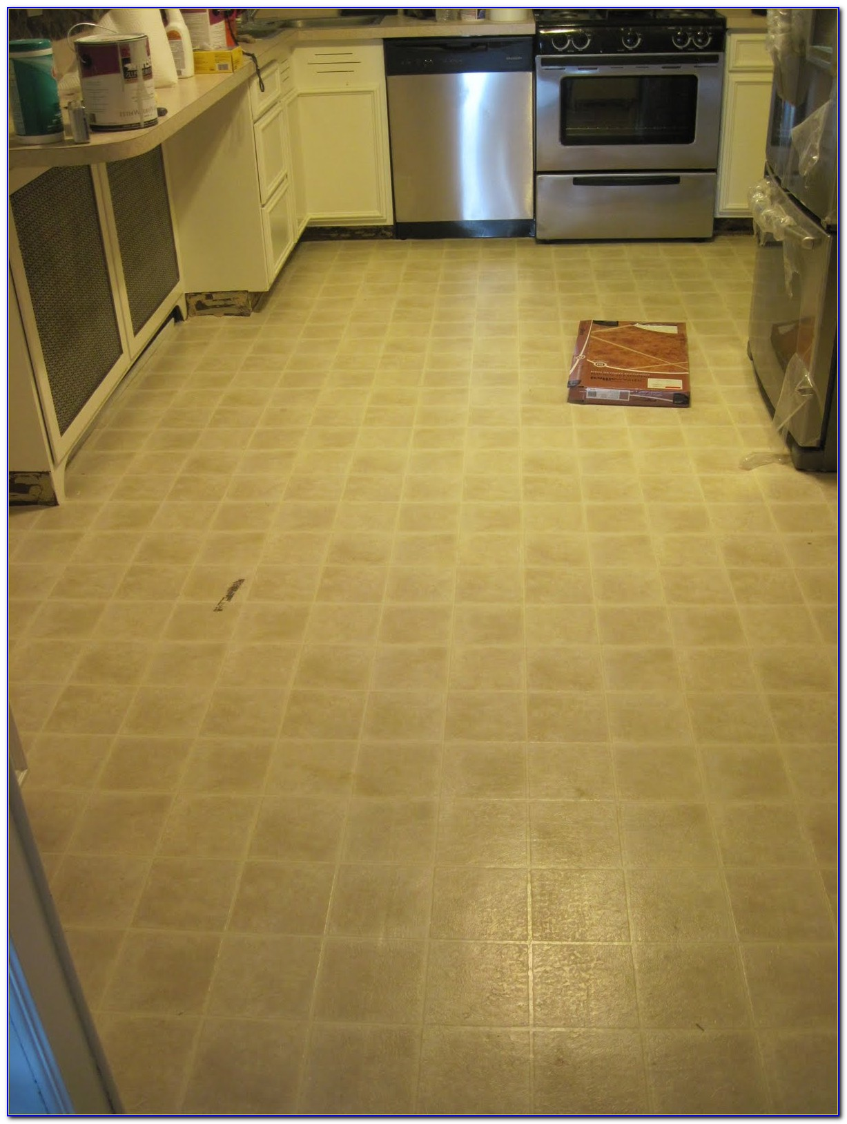 Grout Between Vinyl Floor Tiles