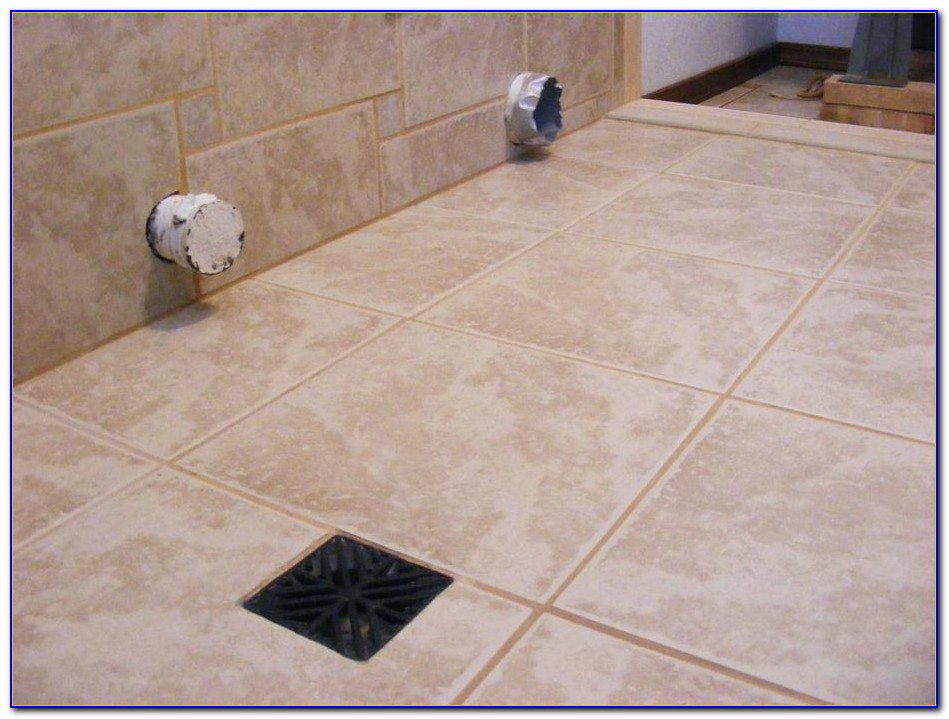 Installing Ceramic Floor Tile On Concrete