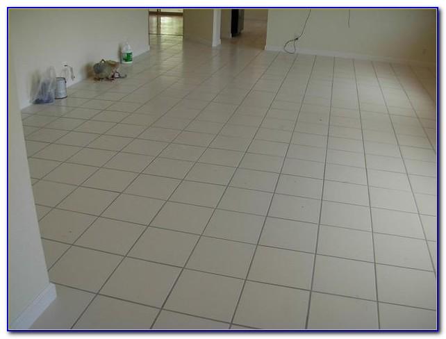 Installing Ceramic Floor Tile Youtube
